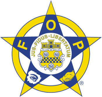 Fraternal Order of Police logo with a transparent background