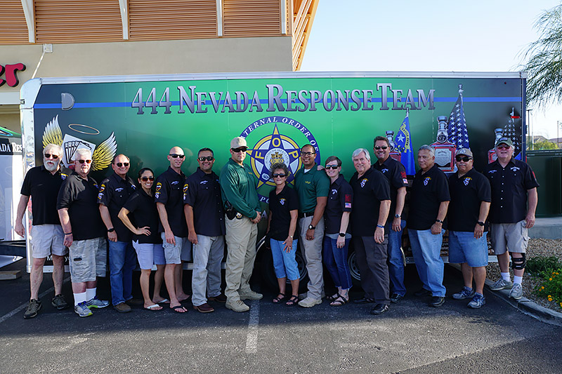 Members from FOP foundation